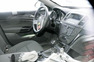 Interni della nuova Opel Insignia
