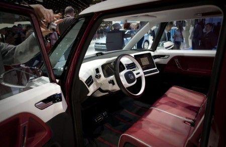 volkswagen bulli ginevra 2011 interni