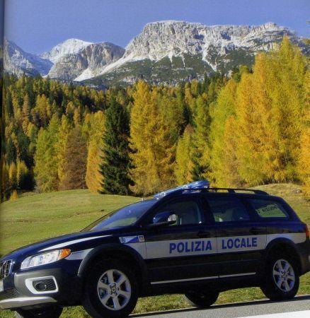 Volvo Polizia Locale Cortina D'Ampezzo