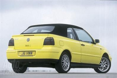 Nuova Volkswagen Golf Cabrio