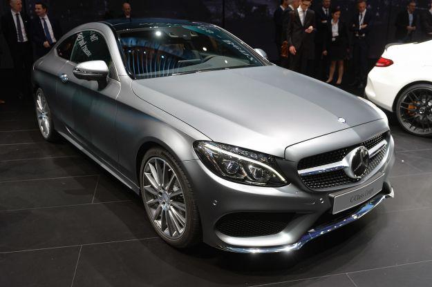 Nuova Mercedes Classe C Coupé 2017: prezzo da 41.379 Euro, anche Amg C63 [FOTO]