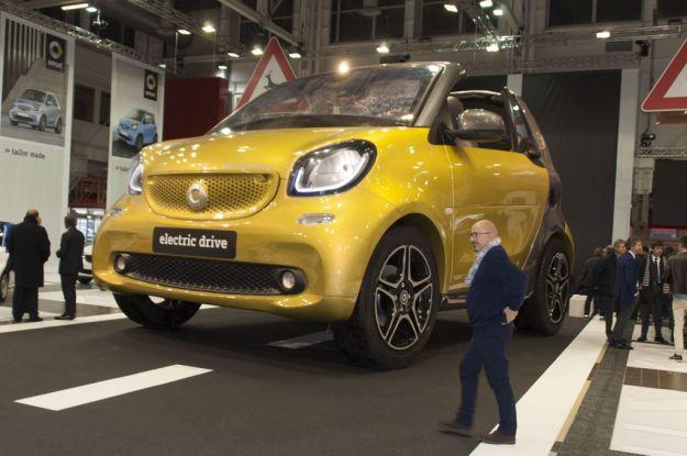 Smart al Motor Show Bologna 2016: arriva l'elettrica [FOTO]