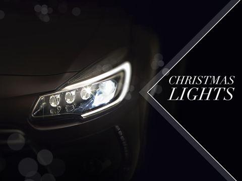 DS: il marchio premium di Citroen augura Buon Natale con una luce diversa