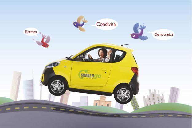 Share'NGo, il car sharing elettrico a Milano: costi e promozioni