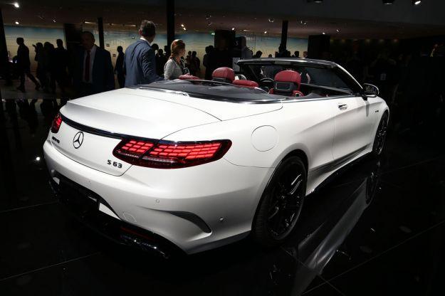 Mercedes AMG S 63 Coupé e Cabriolet 2018 al salone di Francoforte 2017 [FOTO]