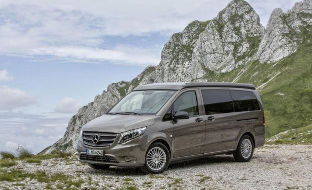 Mercedes Marco Polo: caratteristiche e prezzo del camper di lusso