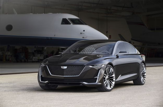 Cadillac Escala Concept: a Pebble Beach il futuro del design [FOTO]
