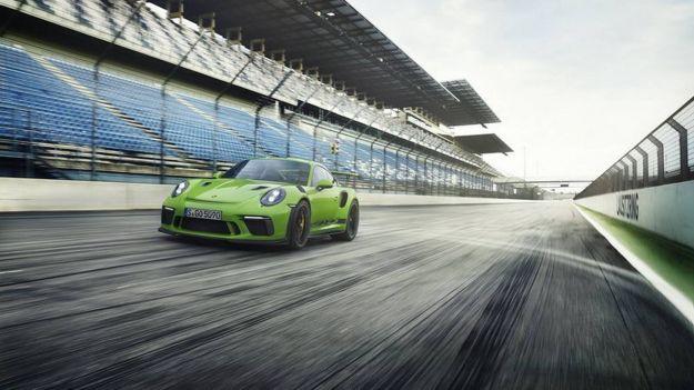 Porsche 911 GT3 RS: la più potente pronta al debutto