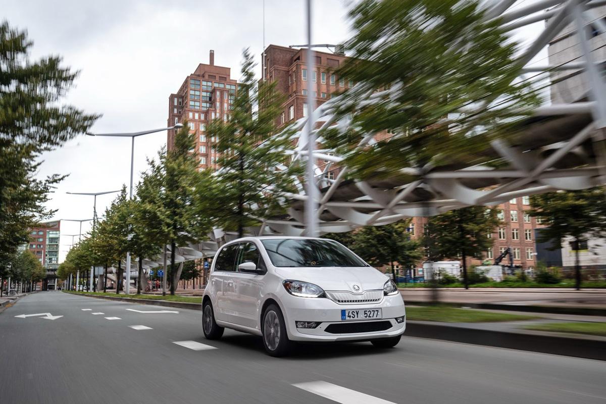 Skoda Citigo e-IV è l'auto più economica del 2020