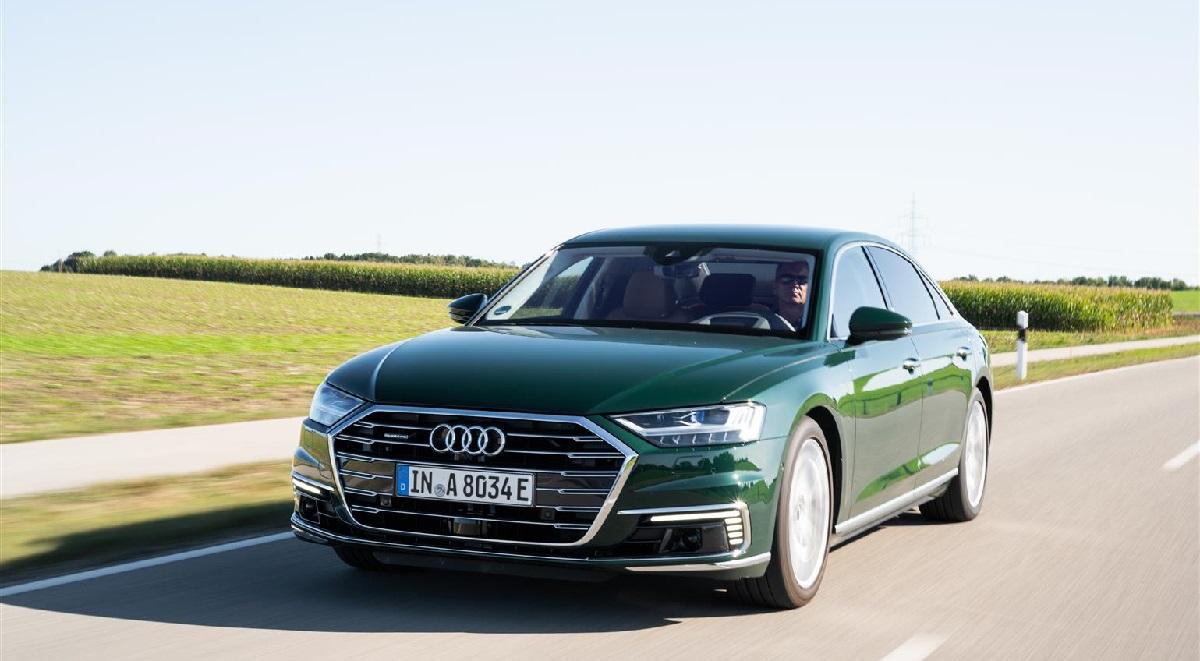 Audi A8 hybrid plug-in