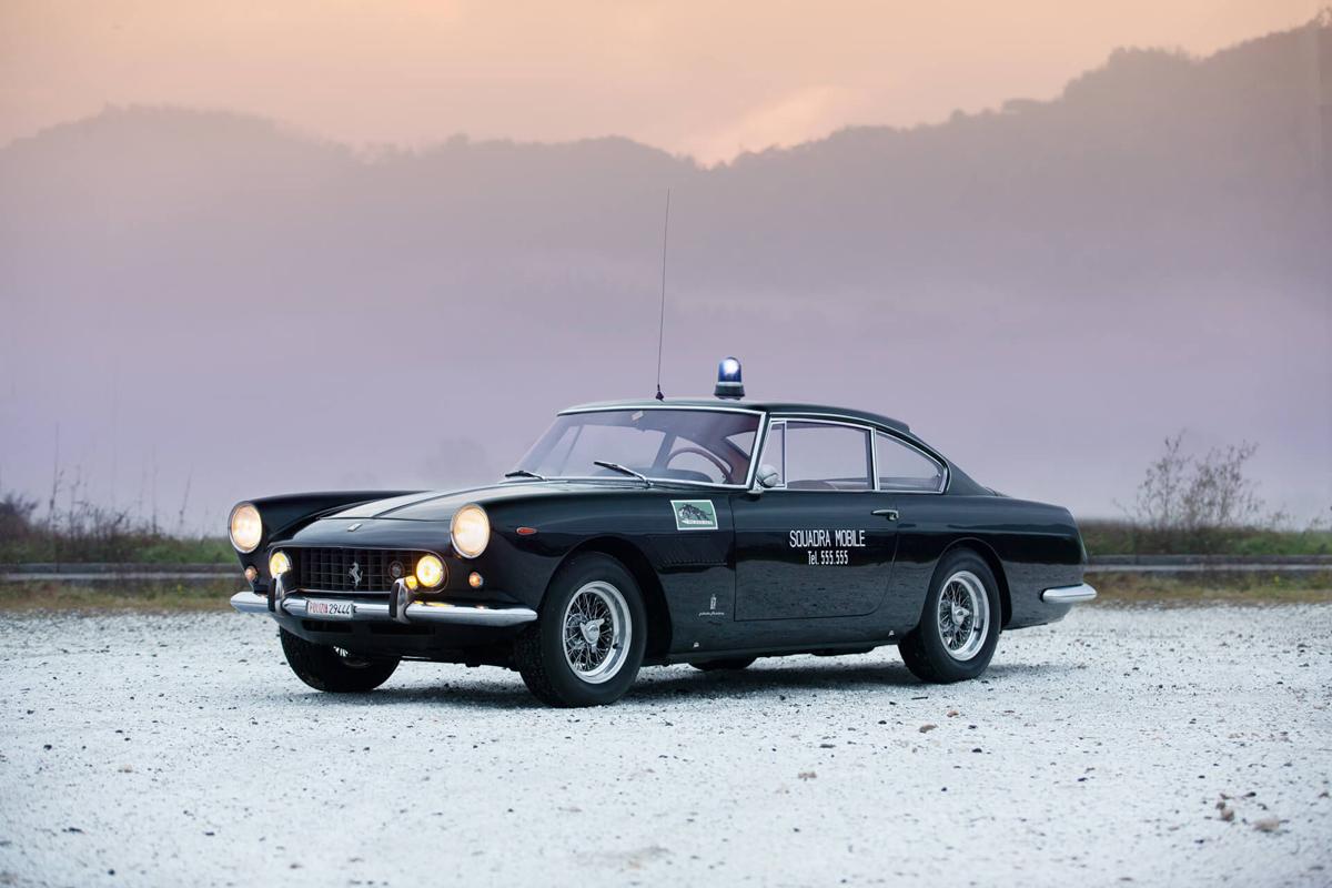 """Ferrari 250 GTE Polizia, la """"Pantera"""" del 1962 è in vendita"""