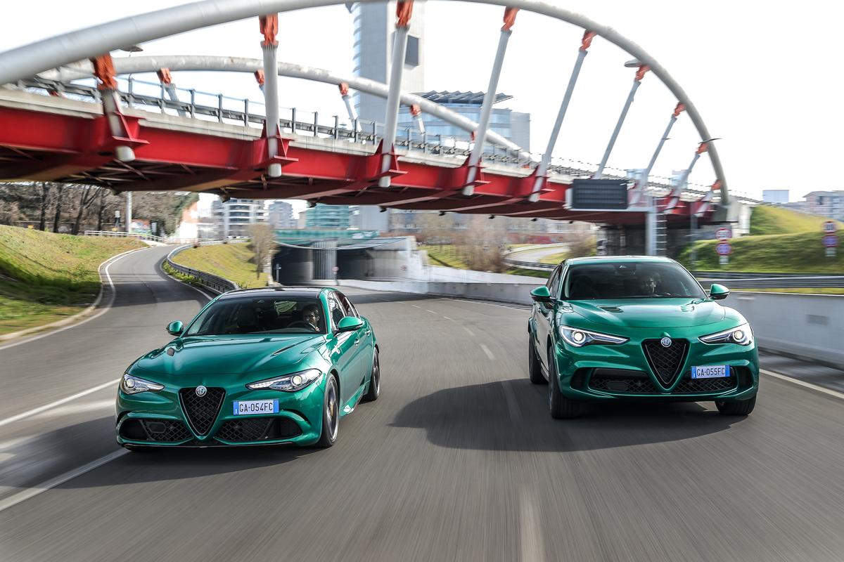 Nuove Alfa Romeo Giulia e Stelvio, ora anche in versione Quadrifoglio