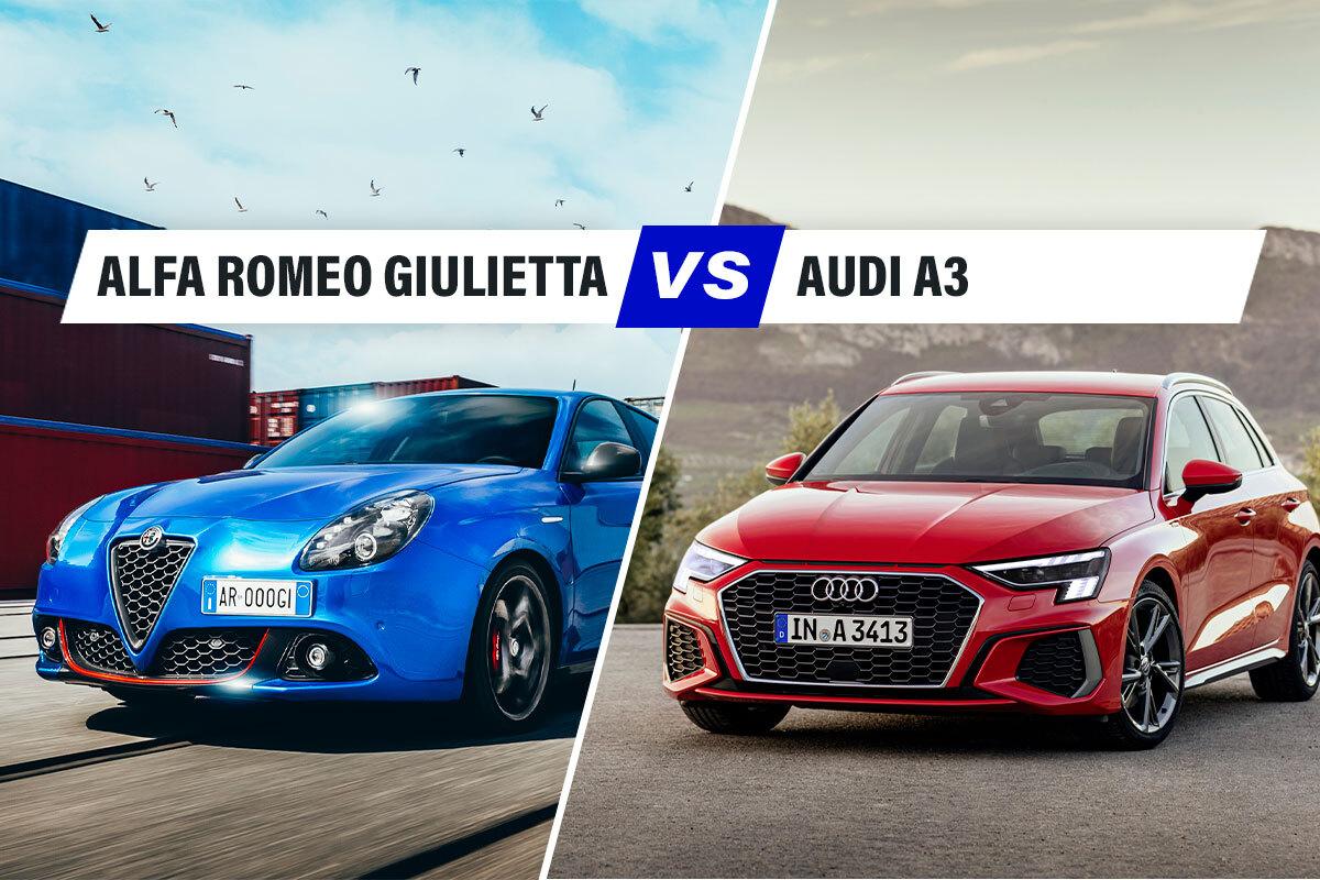 Alfa Romeo Giulietta vs Audi A3, la sfida Italia-Germania nel mondo dei motori