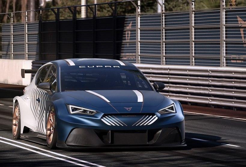Cupra e-Racer, l'elettrica da gara protagonista delle corse virtuali