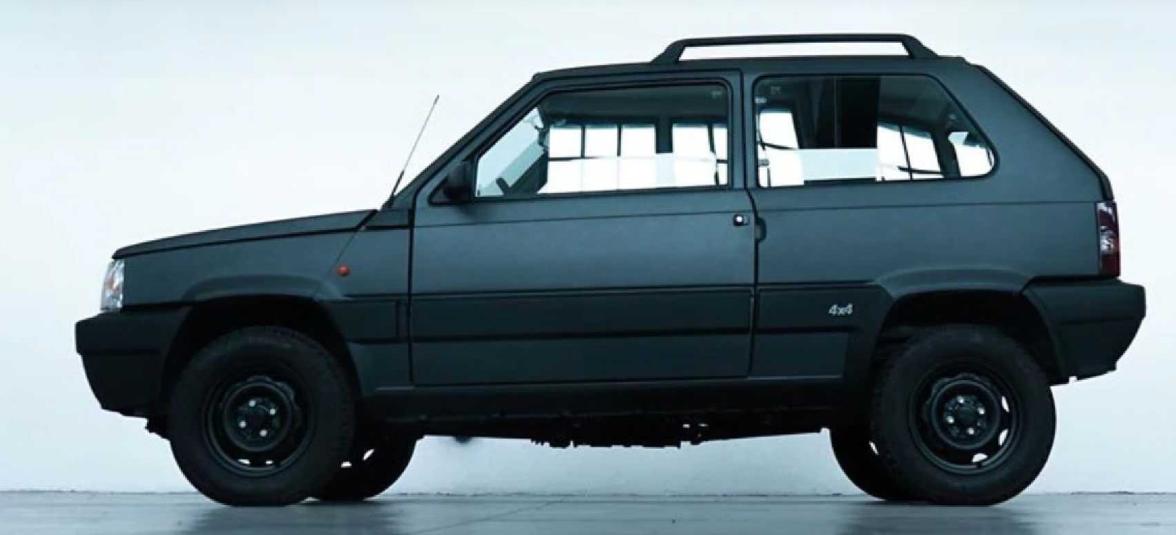 Fiat 00Panda, l'elettrica di Garage Italia Customs ispirata a James Bond