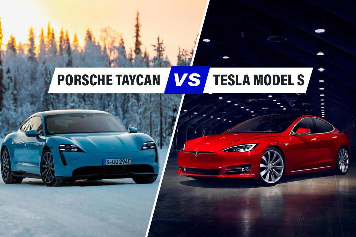 Porsche Taycan vs Tesla Model S, il confronto tra berline elettriche di classe