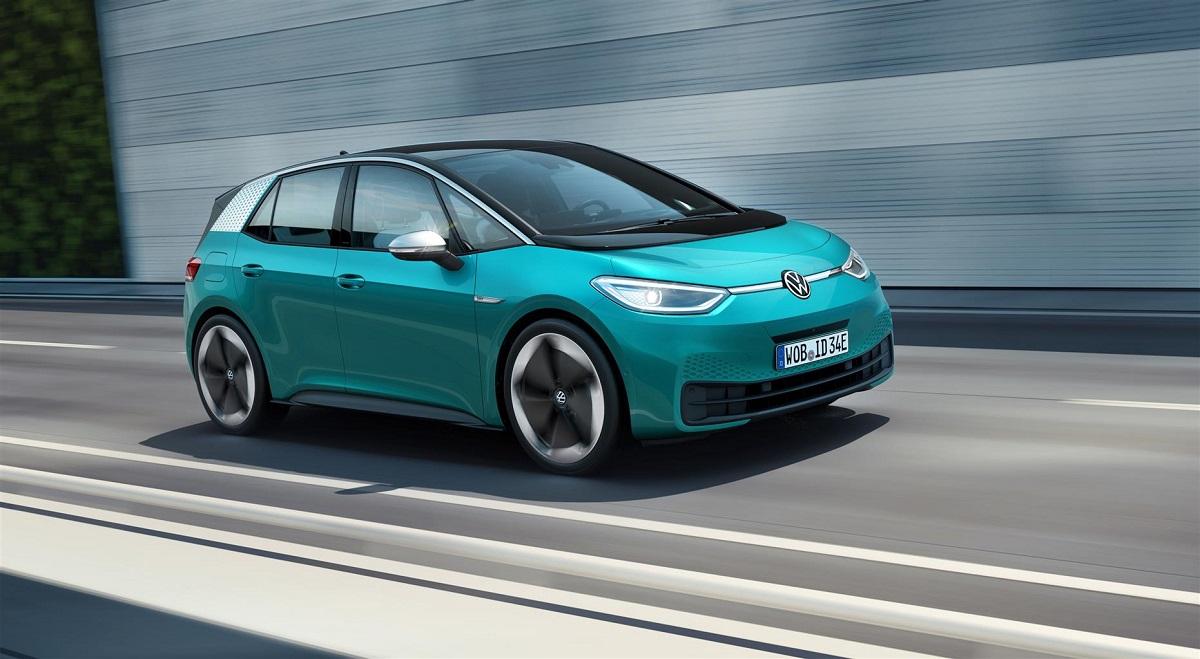 Volkswagen ID.3 in strada