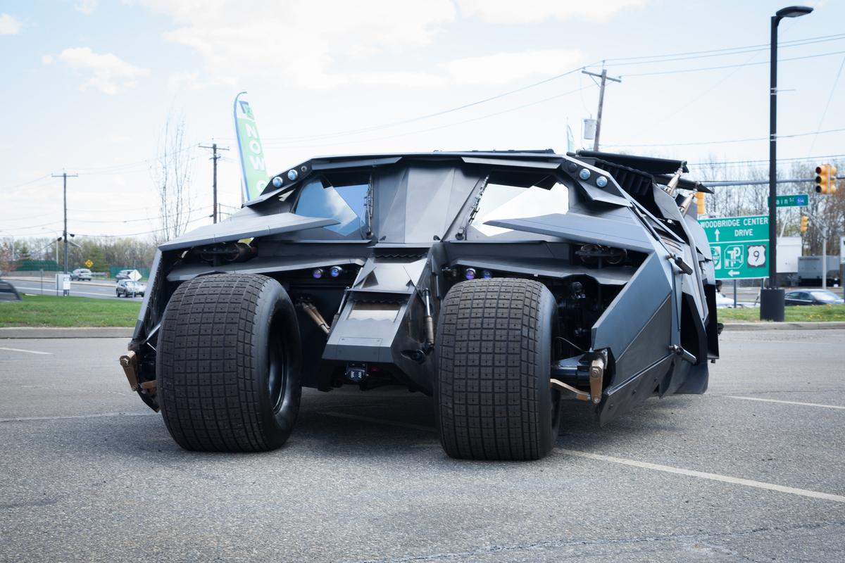 Una versione della Batmobile
