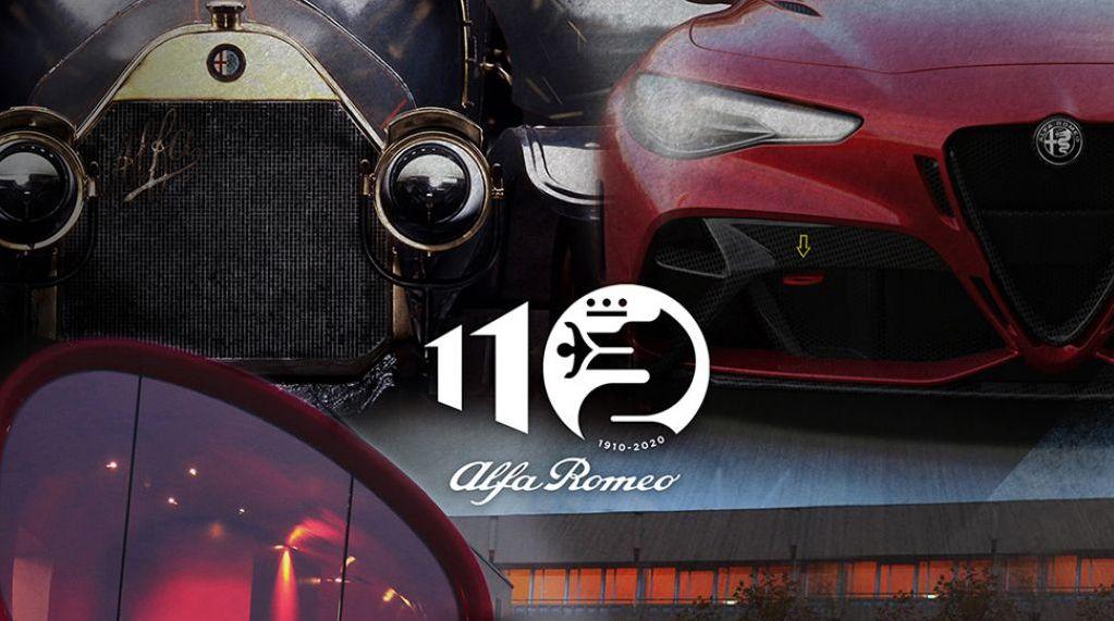 Alfa Romeo festeggia 110 anni di storia