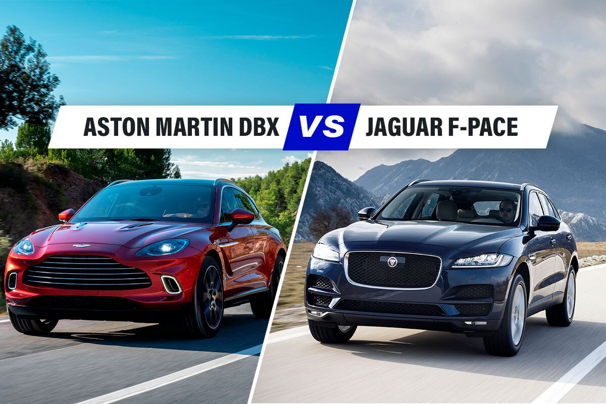 Aston Martin DBX vs Jaguar F-Pace