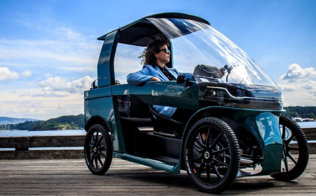 CityQ Car e-Bike, l'auto a pedali nata per la città