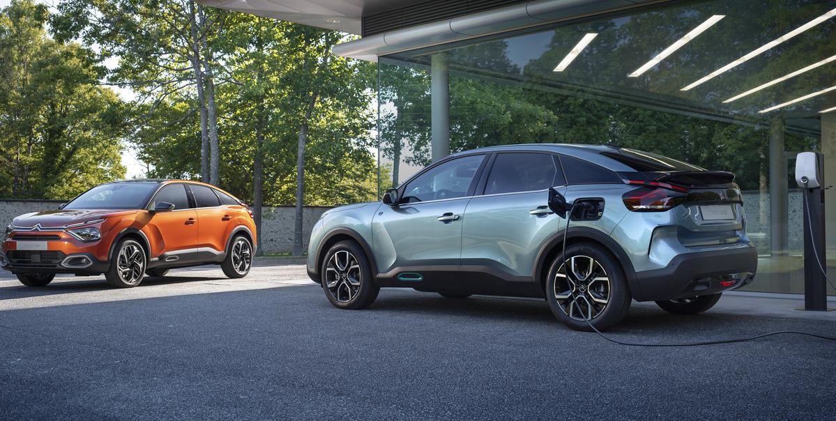 Nuova Citroën C4, nasce la nuova generazione anche in versione 100% elettrica