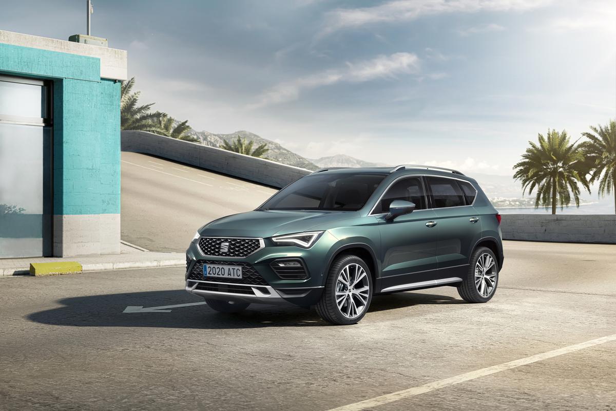 Nuova Seat Ateca, il SUV spagnolo si aggiorna per proiettarsi al futuro