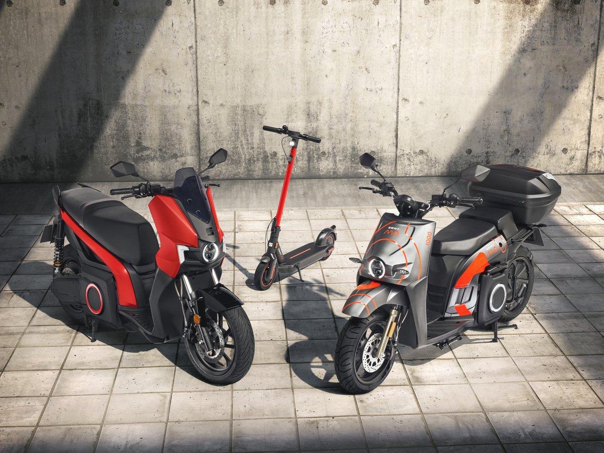 Scooter elettrici e monopattini, nasce Seat Mò per la mobilità urbana