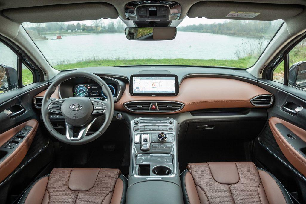 interni nuova Hyundai Santa Fe
