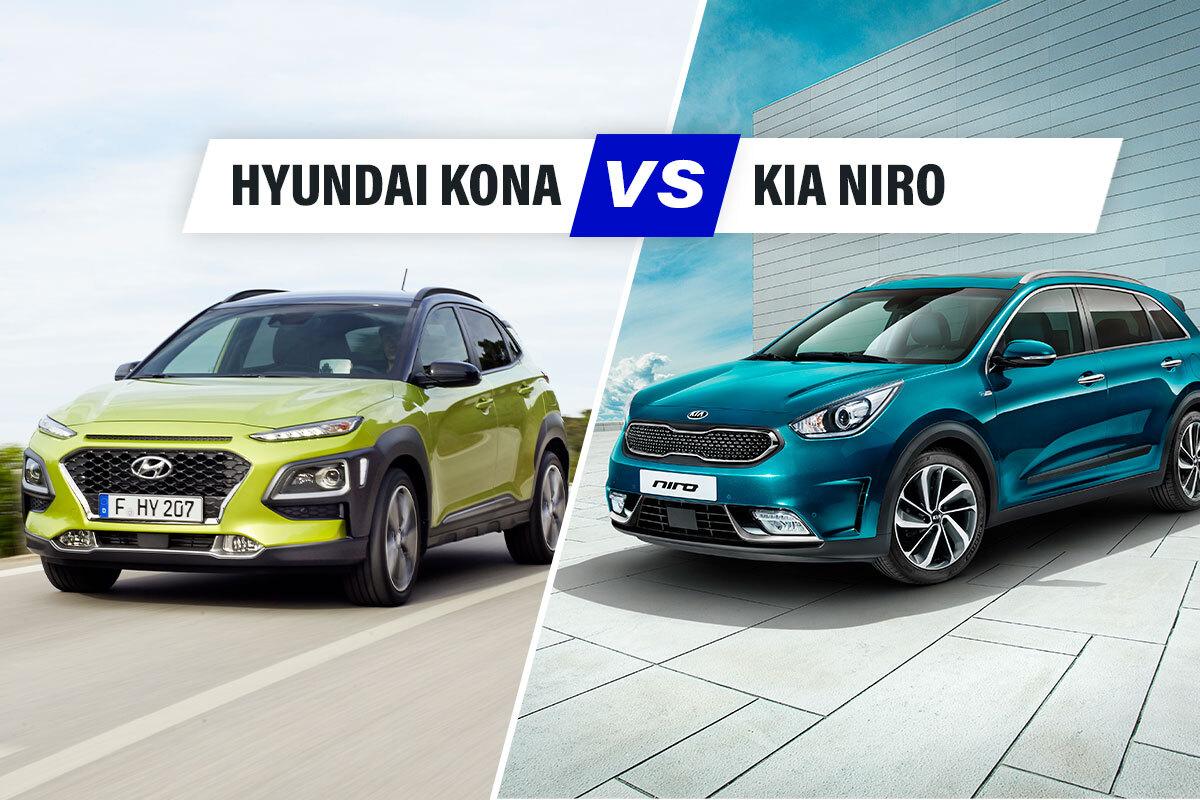 Hyundai Kona vs Kia Niro