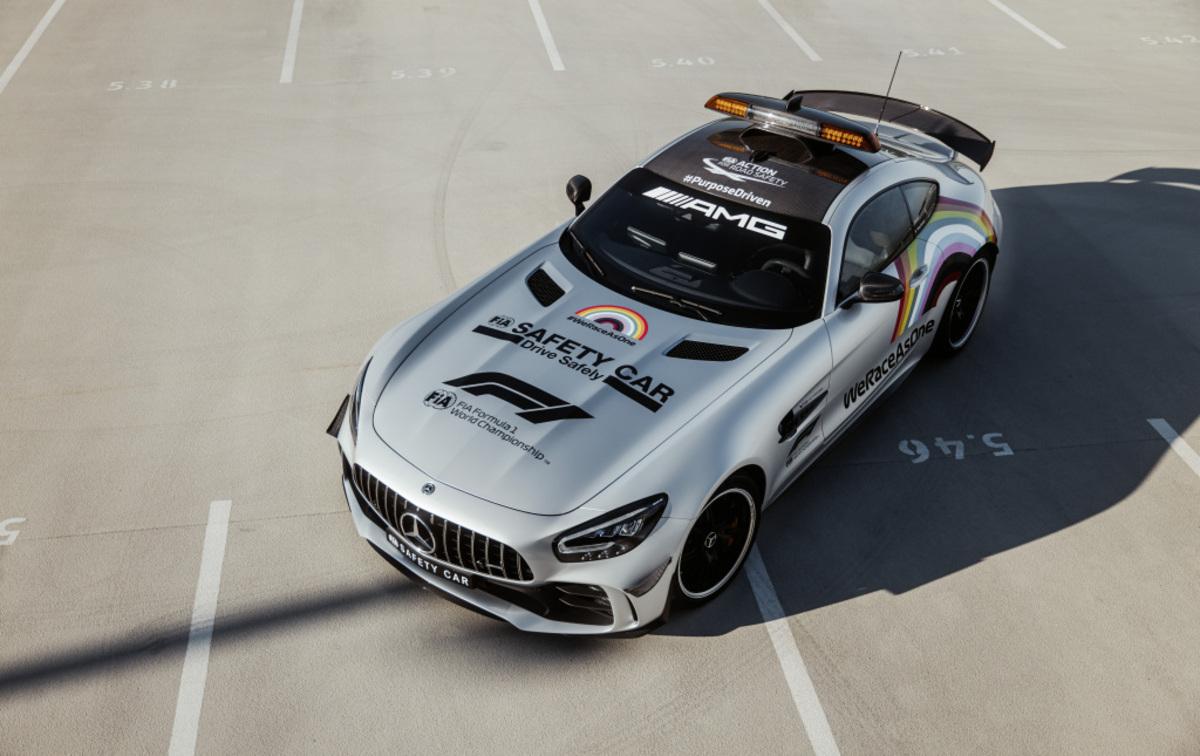 Mercedes-AMG GT R, la Safety Car della Formula 1 cambia look
