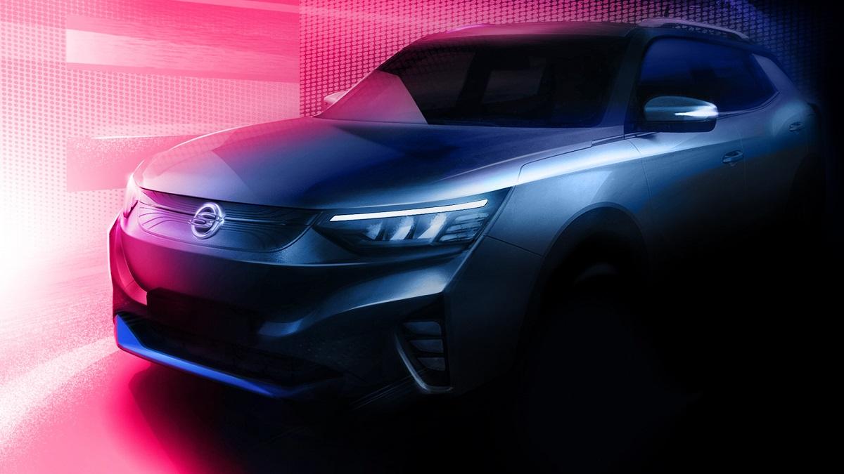 SsangYong Korando, il primo SUV 100% elettrico arriverà nel 2021