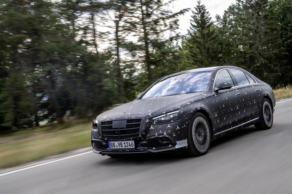 Nuova Mercedes Classe S, debuttano gli airbag posteriori e il Pre-Safe Impulse Side
