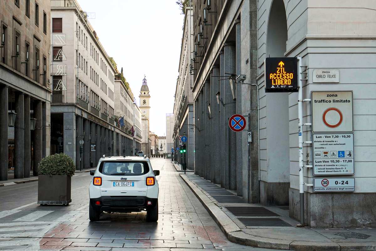 telecamere ztl possono multare auto senza assicurazione