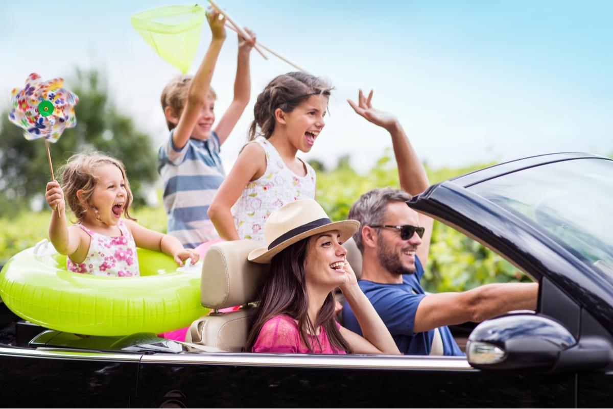 vacanze in auto con bambini