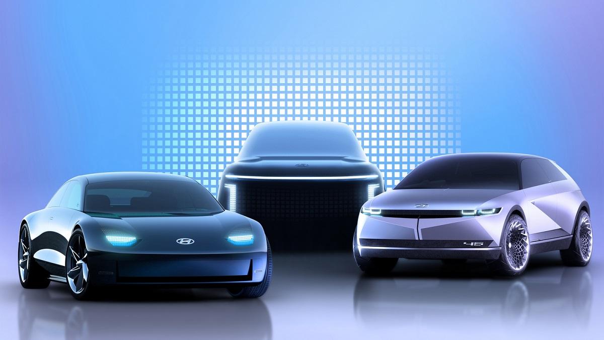 veicoli elettrici Hyundai nuovo brand IONIQ