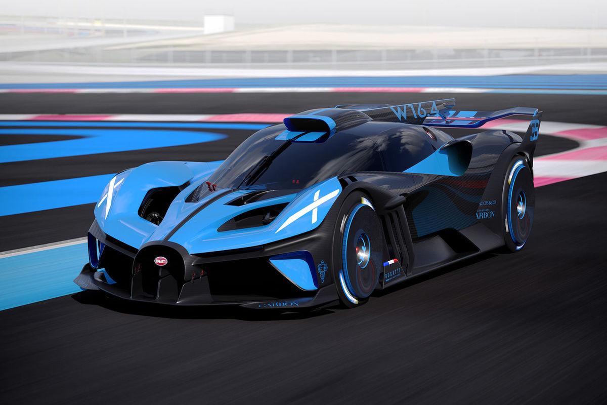 Bugatti Bolide, la hypercar pronta a sfidare la vetture di Formula 1