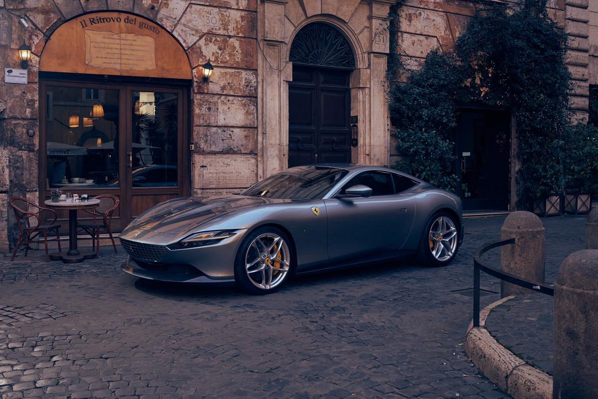 Premio per la Ferrari Roma, l'auto del Cavallino vince il Car Design Award 2020