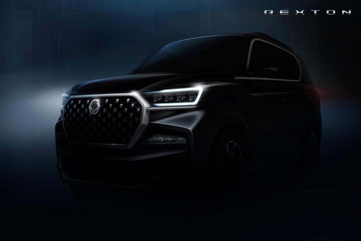 Ssangyong Rexton, le prime immagini teaser del SUV corenao