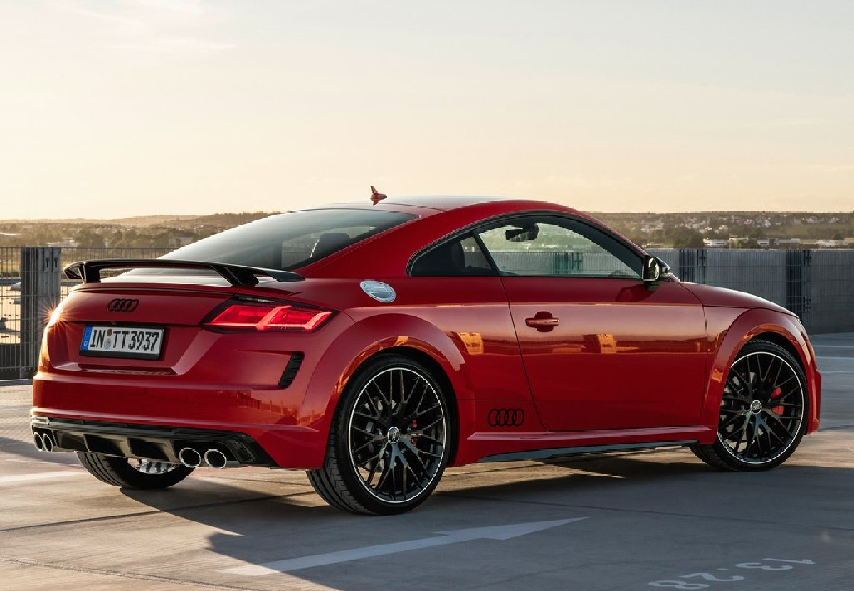 Audi TTS Cuopé competion plus