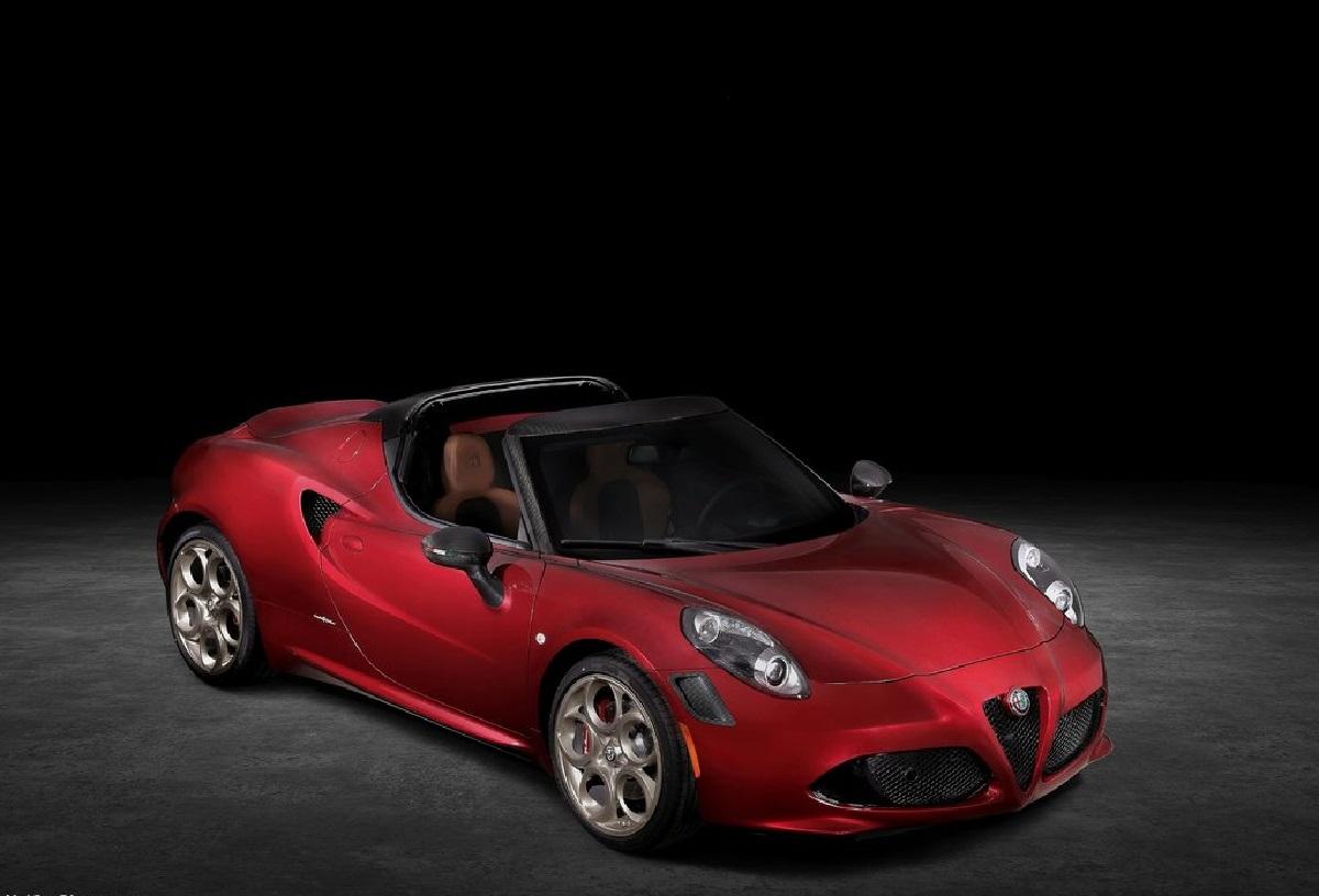 Alfa Romeo 4C Spider, arriva un versione 33 Stradale Tributo