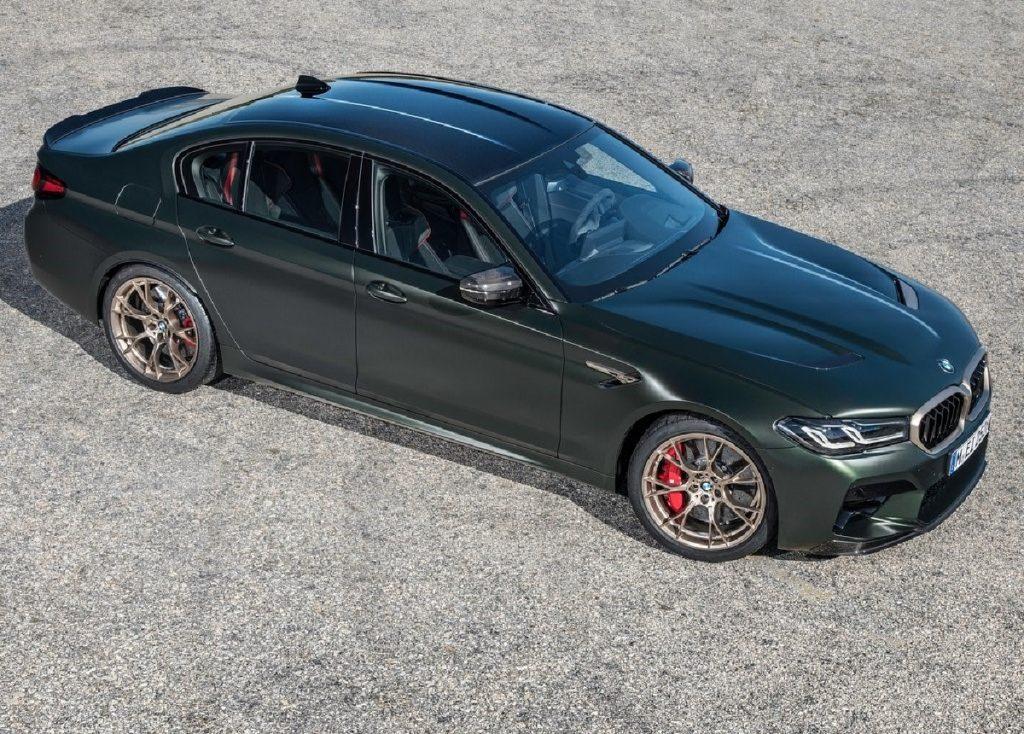BMW M5 CS profilo alto