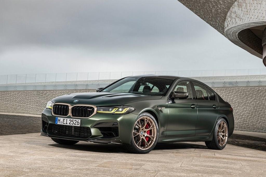 Profilo anteriore BMW M5 CS