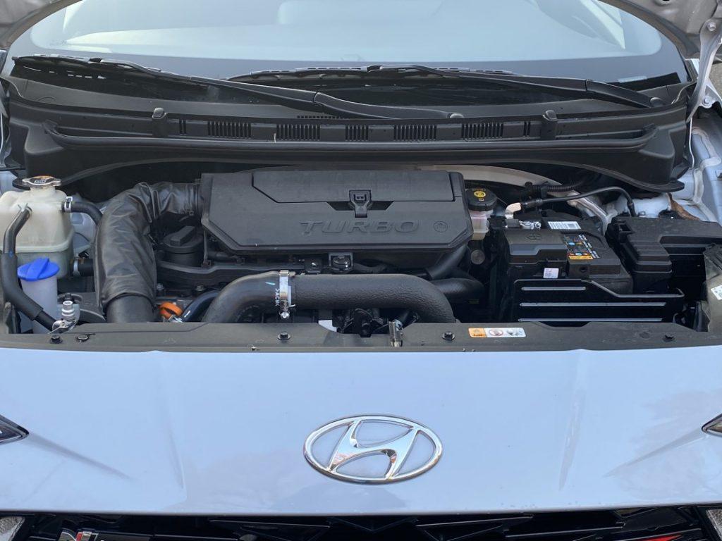 Hyundai i10 N Line motore