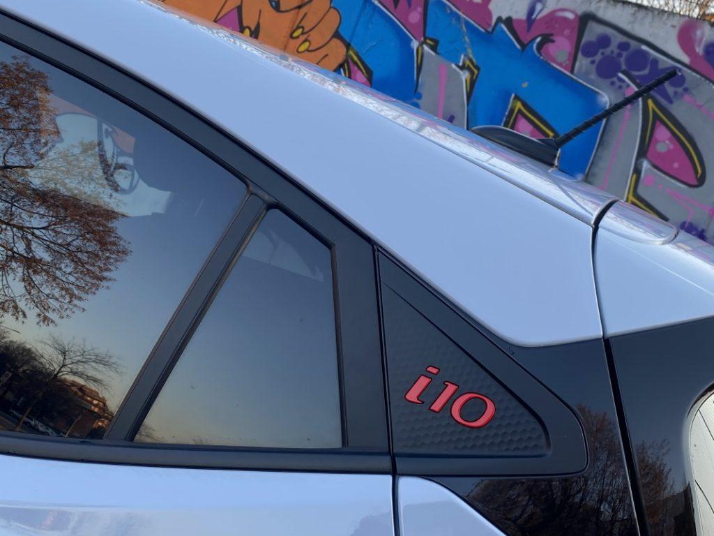 Hyundai i10 N Line dettaglio estetico
