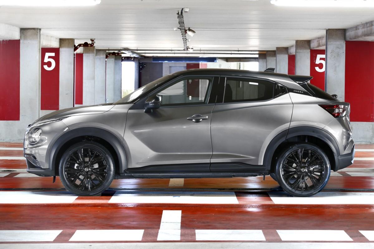 Nissan Juke Enigma, look sportivo e audace con un'Alexa in più
