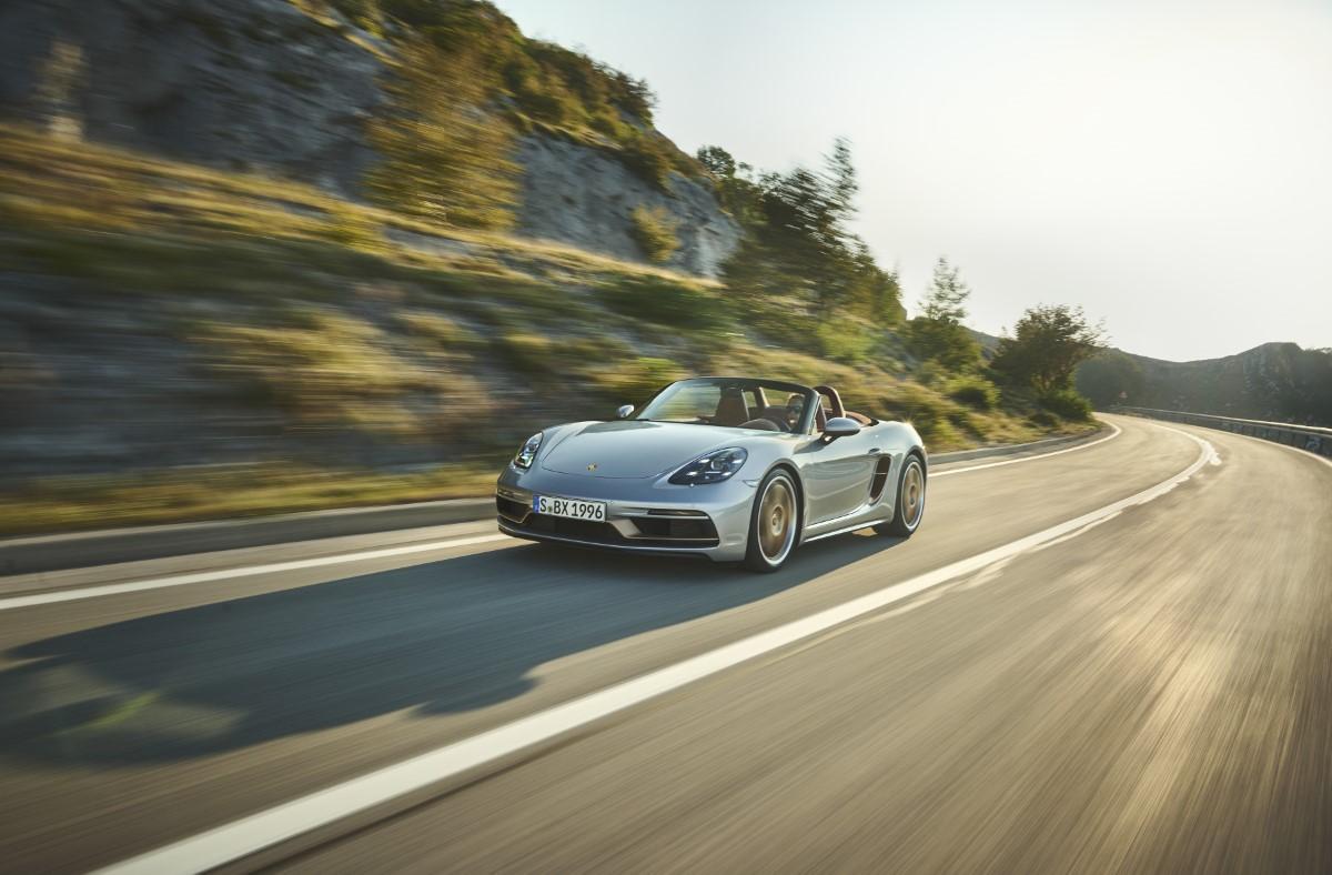 Porsche Boxster 25 anni