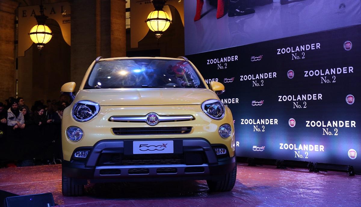 Furti d'auto 2020 - Fiat 500x