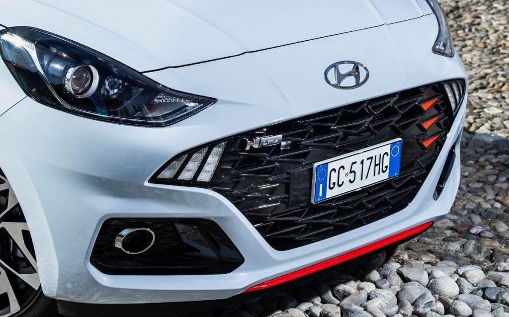 frontale nuova Hyundai i10 N Line