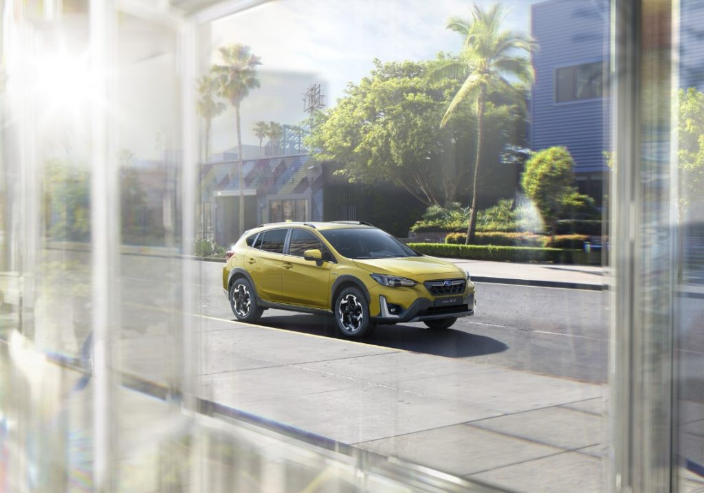 nuova Subaru XV profilo anteriore